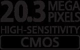 20.3 Megapixel